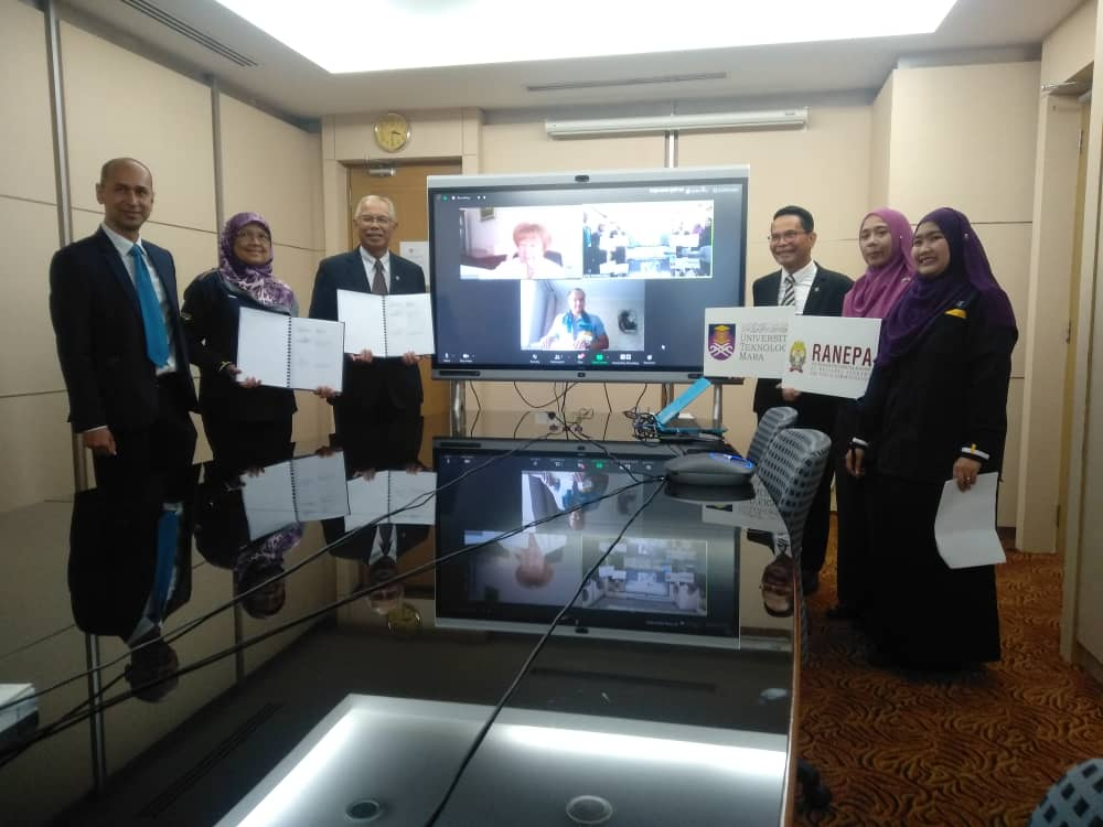 MoU UiTM & North-West Institute of Management, Ranepa, Saint-Petersburg, Russia